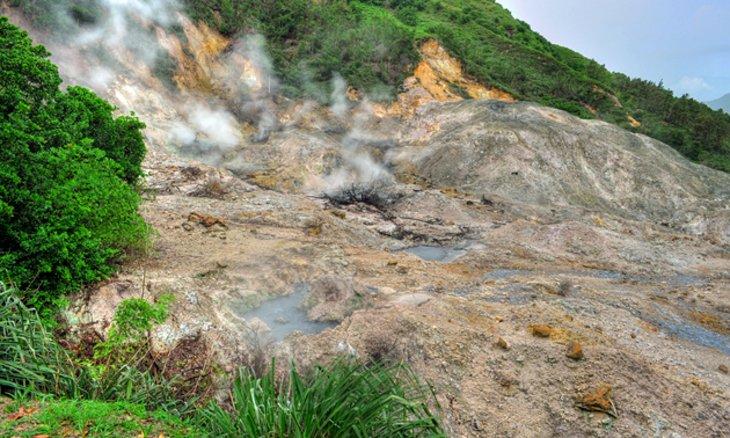 Sulphur Springs Park، Mount Soufriere