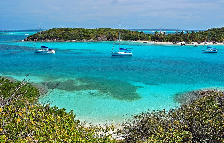 Snorkeling and Sailing in the Tobago Cays