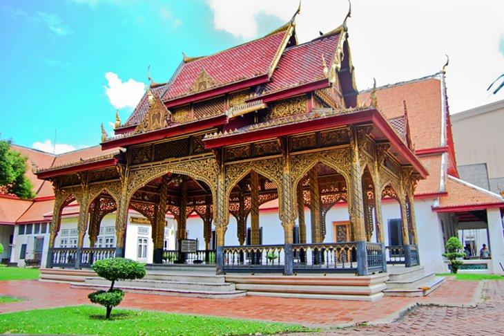 المتحف الوطني في مدينة بانكوك، العاصمة التايلاندية