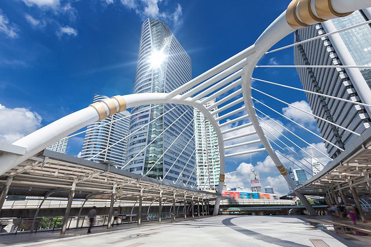 Contemporary architecture in Bangkok