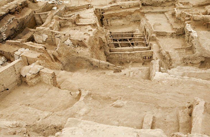 Excavation site - Chatalhoyuk