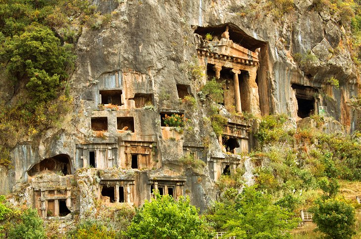 12 TopRated Tourist Attractions in Fethiye – Turkey Tourist Attractions Map