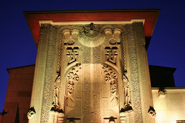 Museum of Wooden and Stone Carving (İnce Minare Medresisi)