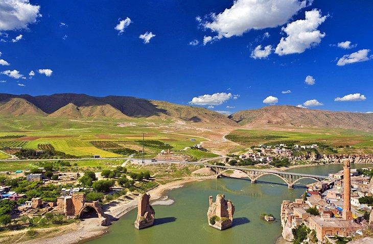 Inggin Liburan Ke Sungai Tigris Batman Di Tenggara Turki