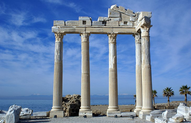 Temples of Apollo and Athena