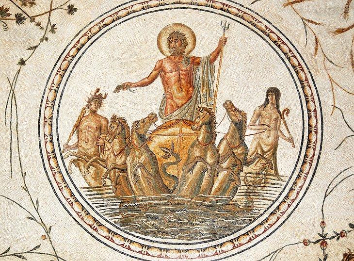 Mosaico en el Museo Arqueológico