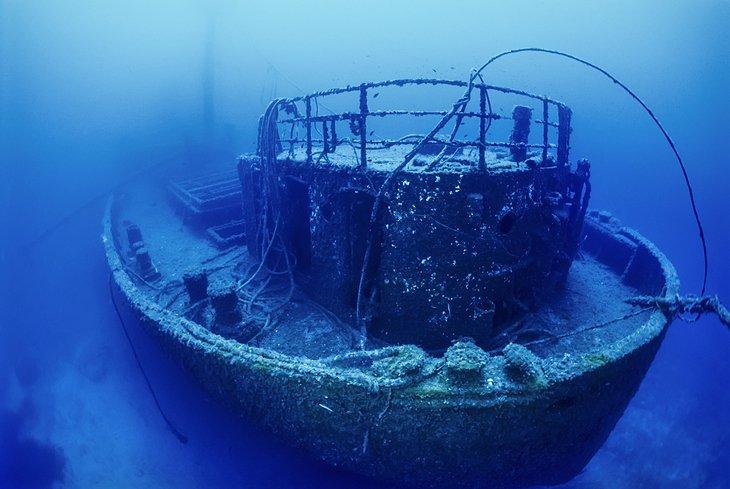 Buceo en naufragios frente a las islas La Galite
