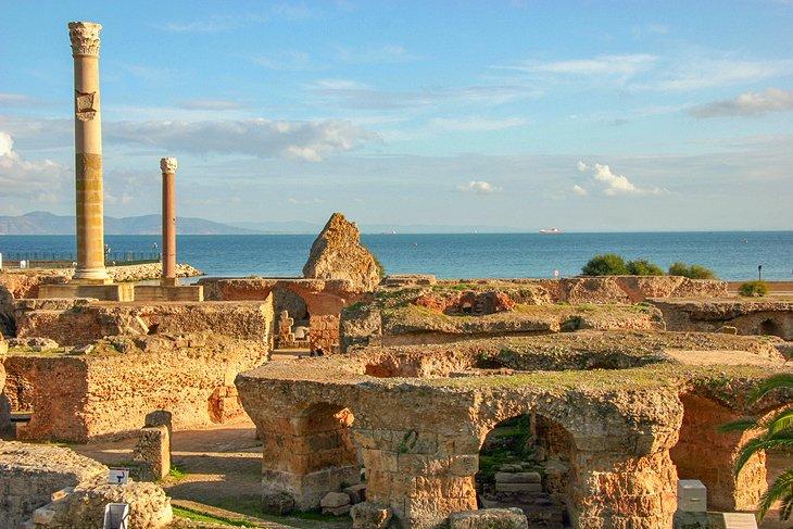 Image result for tunisia roman ruins