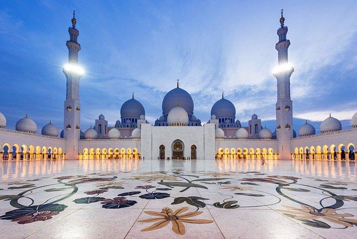 مسجد شیخ زاید، ابوظبی