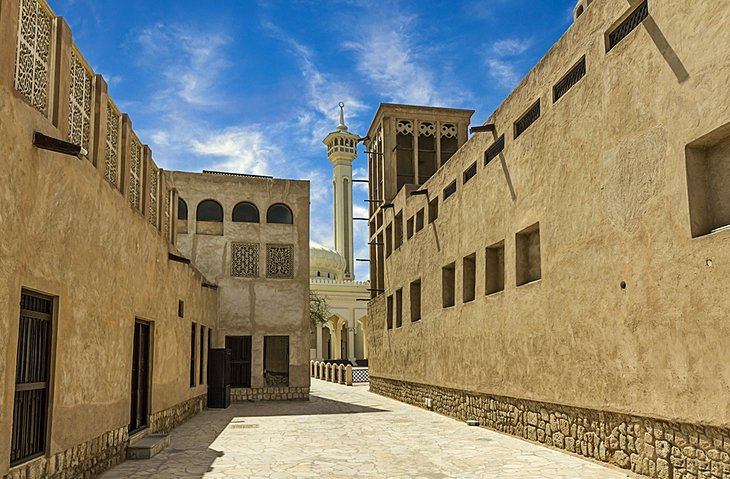 Bastakia (Old Dubai), things to do in dubai, places to visit in Dubai