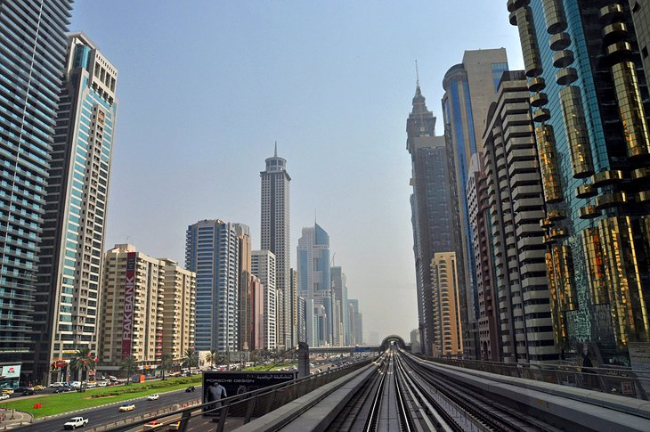 Sheikh Zayed Road, places to visit in Dubai