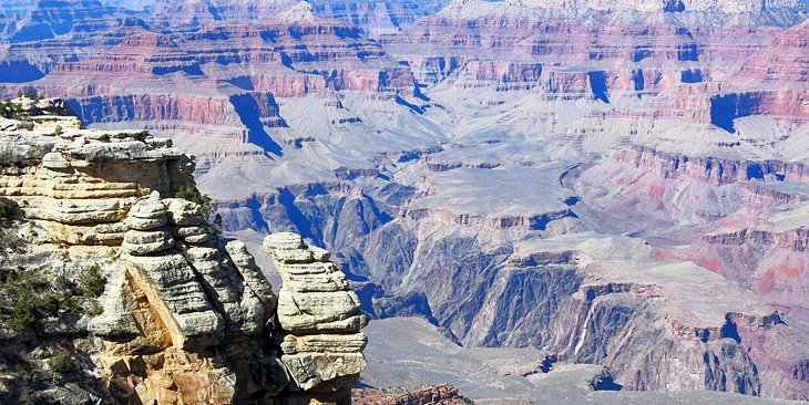 Grand Canyon 10 Top Attractions Best Tours and Where to Stay at – Grand Canyon Tourist Attractions Map