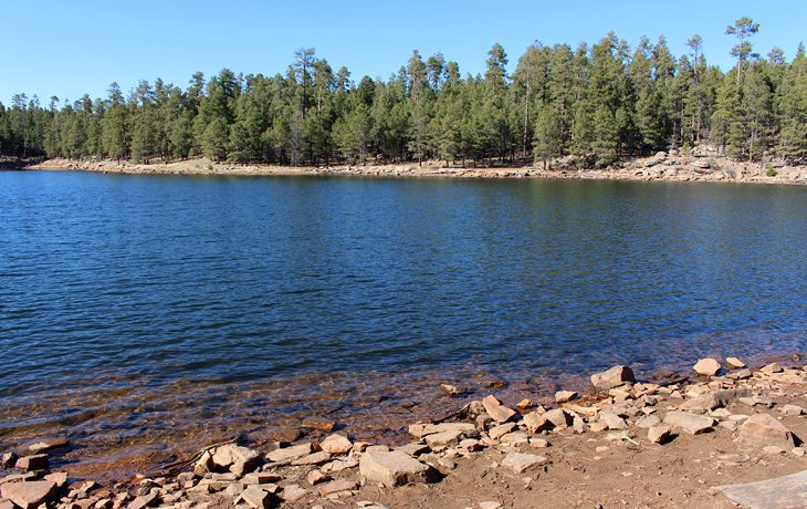 Spillway Campground near Payson