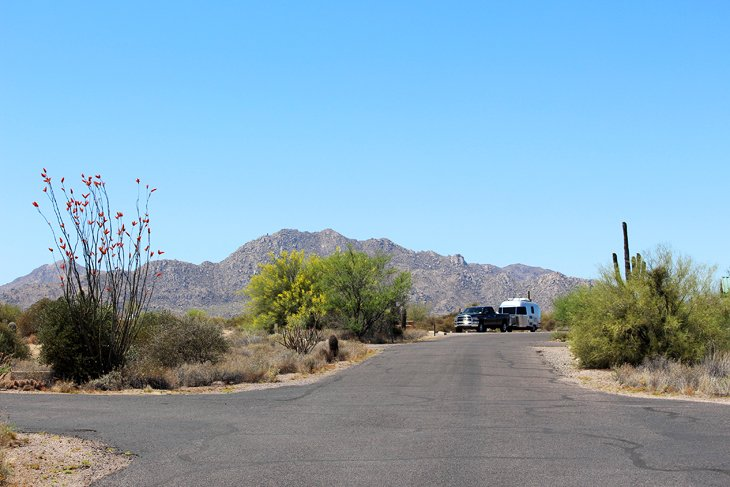 Cave Creek Regional Park Campground