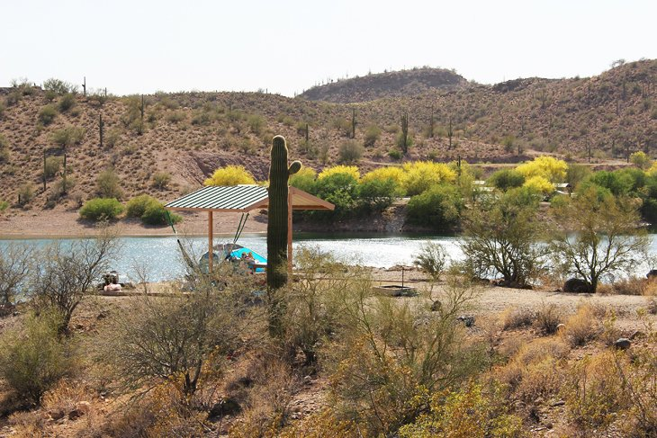 Lake Pleasant  Regional Park Campground