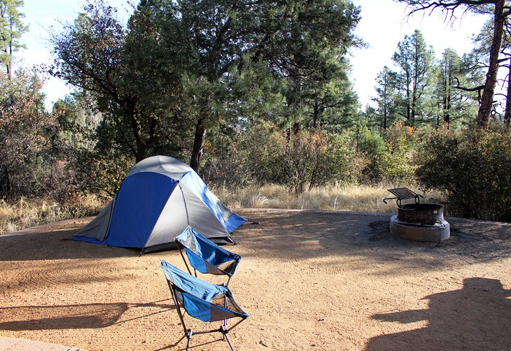 7 Top Rated Campgrounds Near Prescott Arizona Planetware