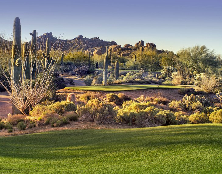 Golf course in Scottsdale