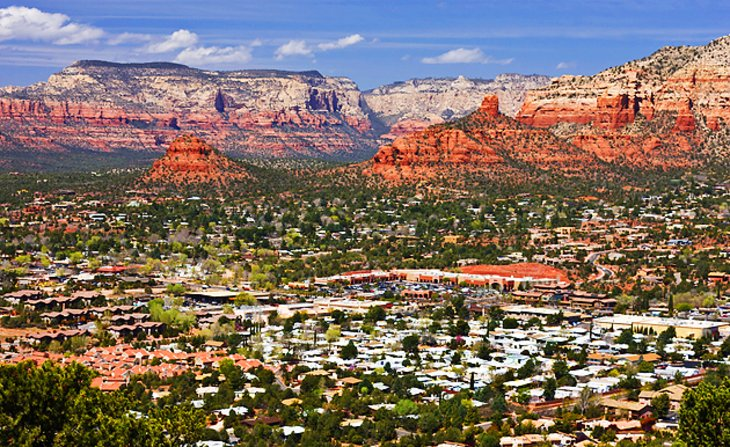 15 TopRated Tourist Attractions in Arizona – Sedona Tourist Map