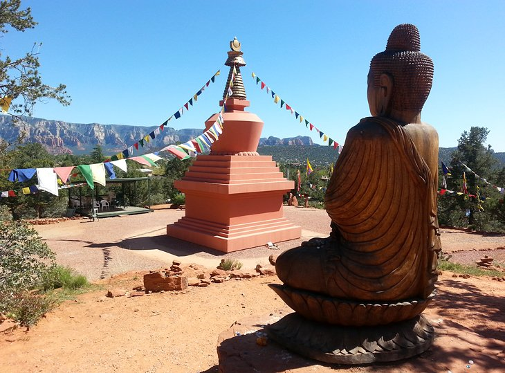 Amitabha Stupa and Peace Park