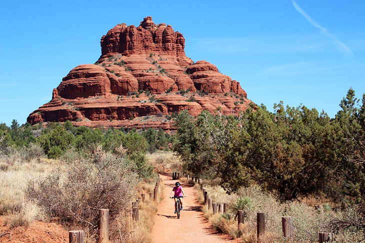 Author Lana Law on Bell Rock Trail