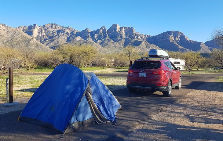 Catalina State Park, Campground A