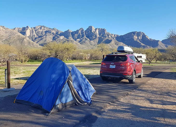 Campgrounds A and B, Catalina State Park