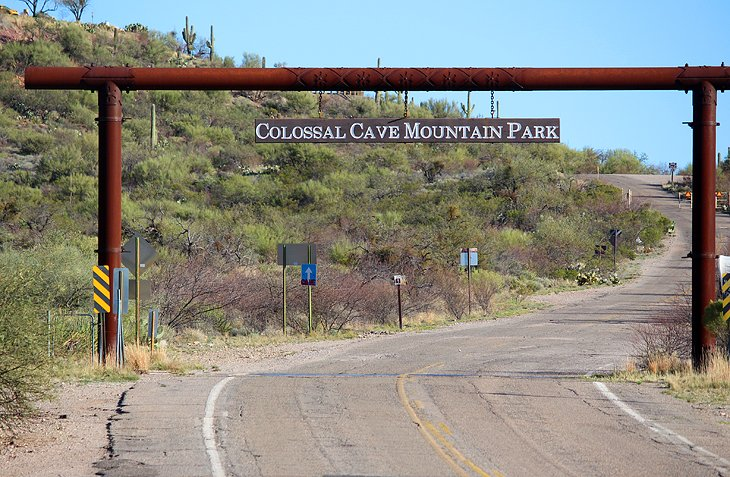 Colossal Cave Mountain Park Campground