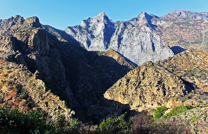 View of Kings Canyon from Kings Canyon Scenic Byway