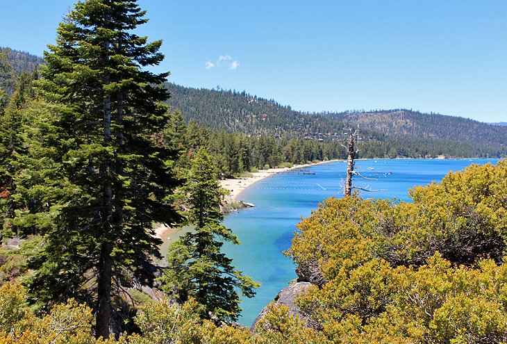 Beach on Lake Tahoe