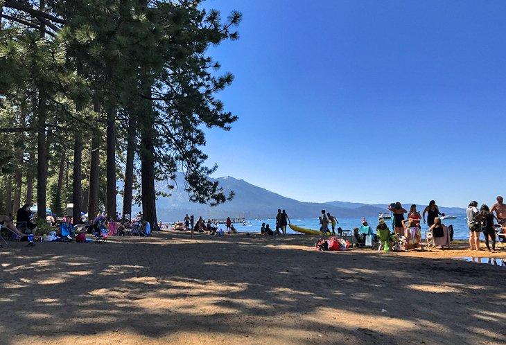 Campgrounds at Camp Richardson Historic Resort and Marina