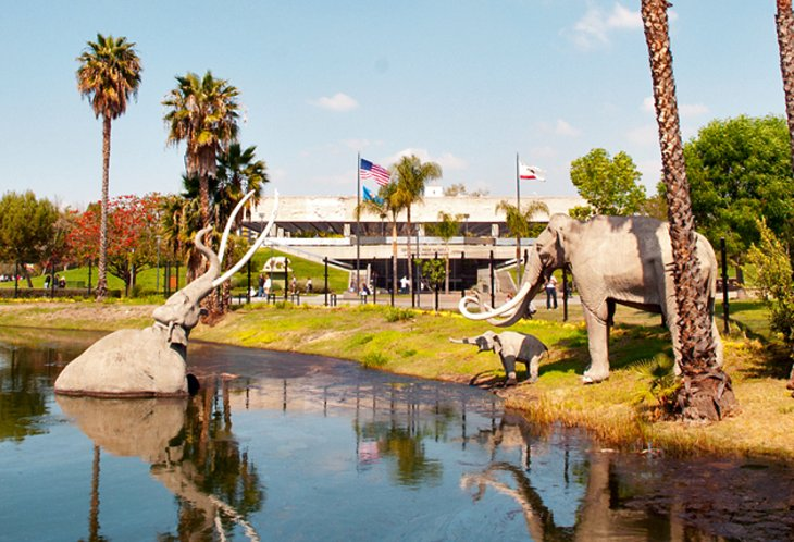 Page Museum and La Brea Tar Pits