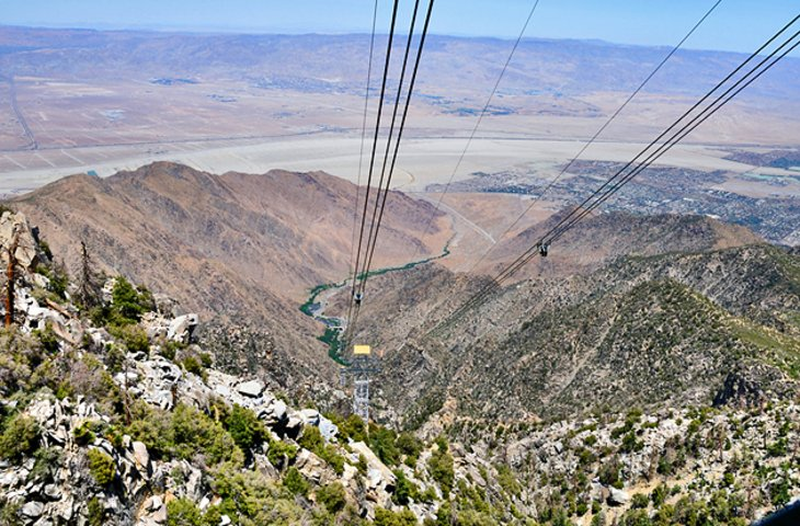 Palm Springs Aerial Tramway and Mount San Jacinto