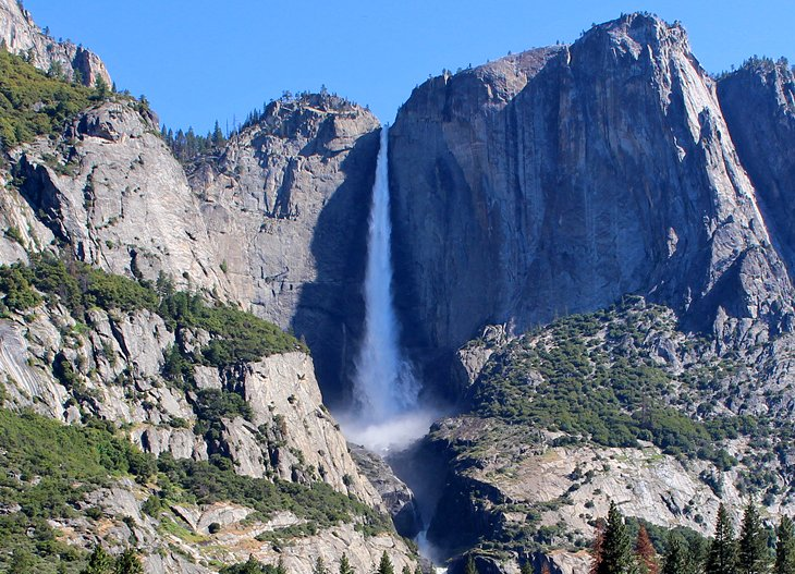 Image result for top of yosemite falls