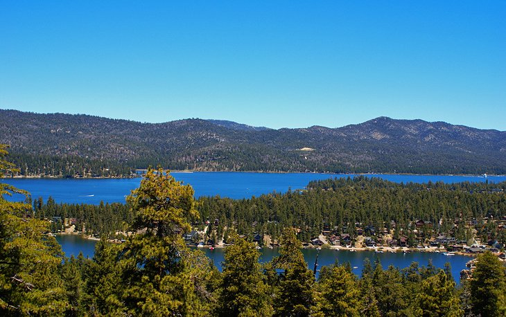 Big Bear Lake: Hiking, Water Sports, and Relaxation
