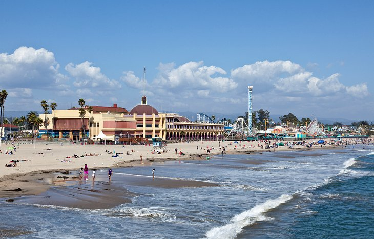 Santa Cruz and the Beach Boardwalk