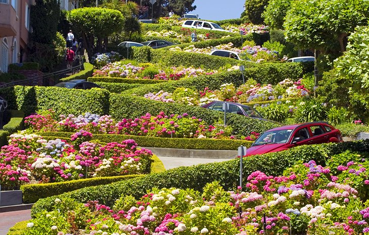 Lombard Street: The Crookedest Road