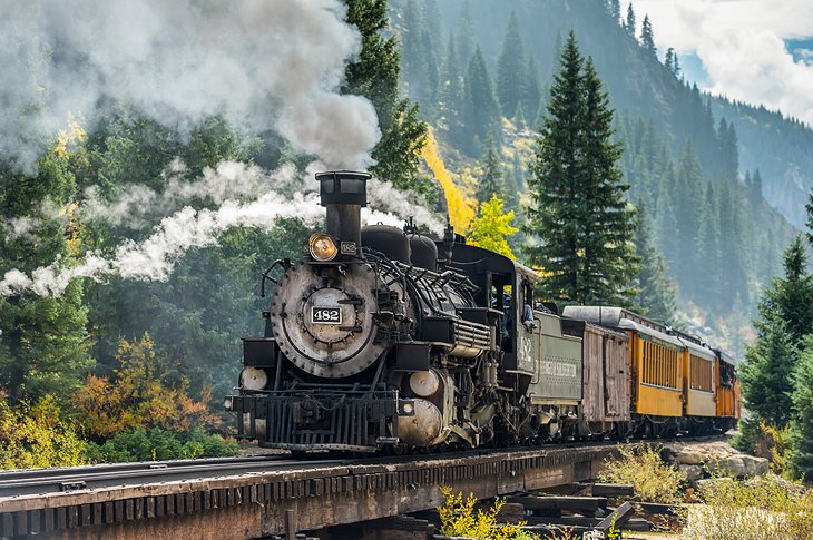 Durango and the Silverton Narrow Gage Railway