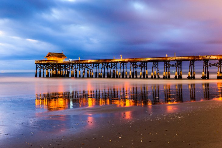 Take A Stroll Over The Ocean On Cocoa Beach Pier