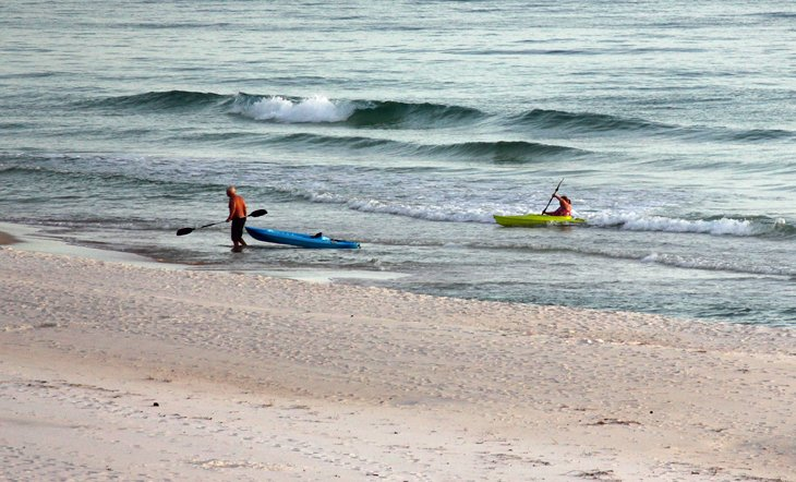 Kayaks in Panama City Beach