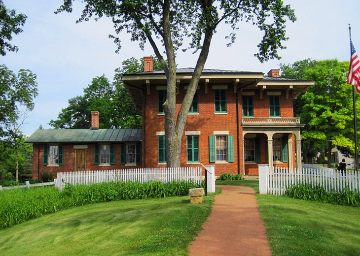Ulysses S Grant Home State Historic Site in Galena
