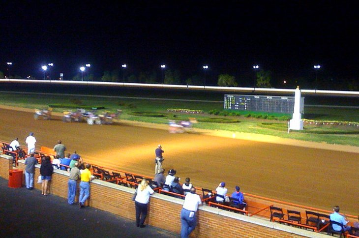 Red Mile Harness Track