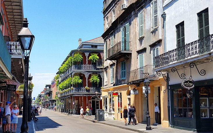 New Orleans French Quarter Tourist Map 15 Top Rated Tourist Attractions in New Orleans | PlanetWare