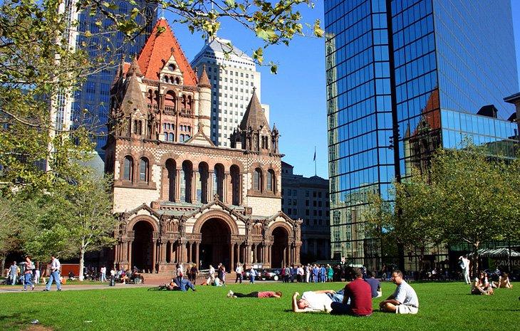Biblioteca pública de Boston y Copley Square
