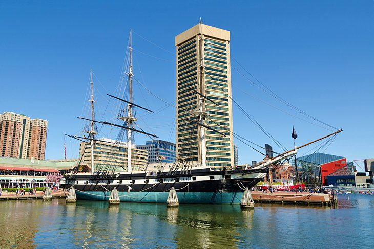 Inner Harbor and Historic Ships