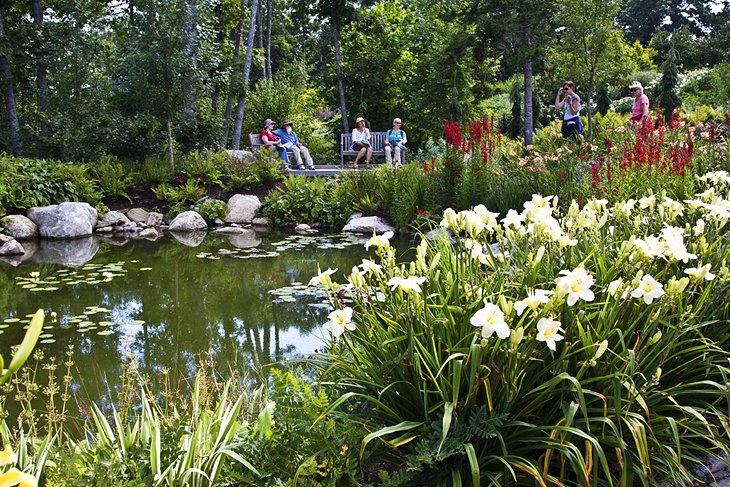 Jardines botánicos costeros de Maine, Boothbay