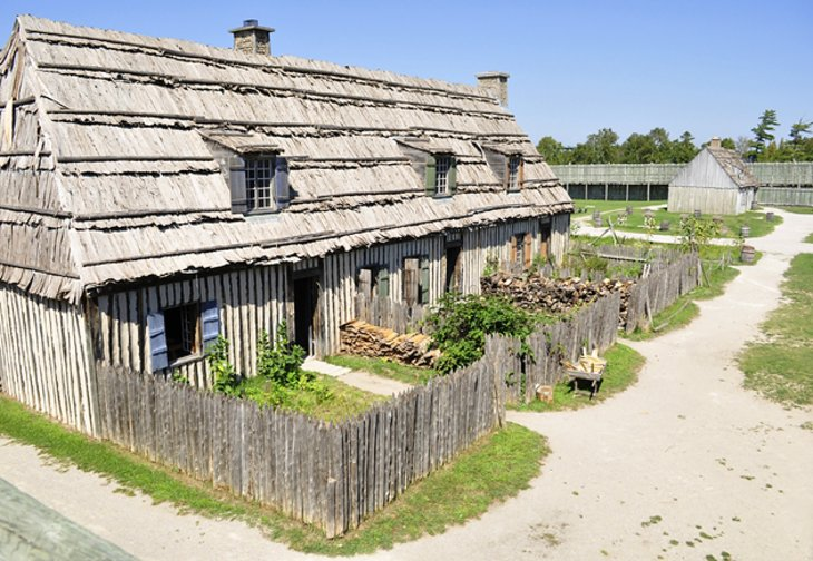 Colonial Michilimackinac  - mackinaw city