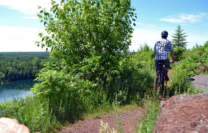 Cuyuna Lakes Mountain Biking Trail
