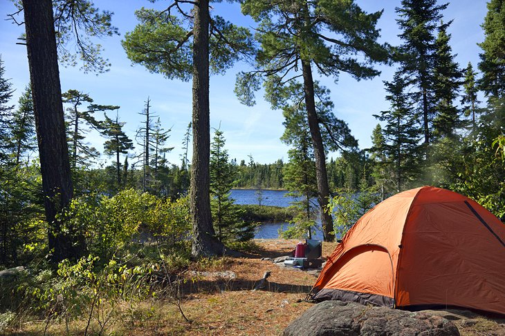 Fall Lake Campground, Superior National Forest