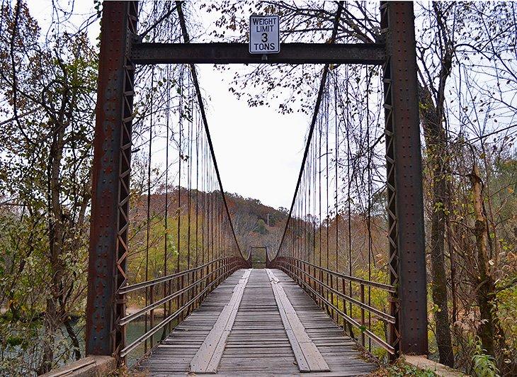 The Swinging Bridges of Brumley