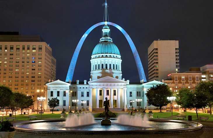 12 TopRated Tourist Attractions in St Louis – St Louis Tourist Attractions Map